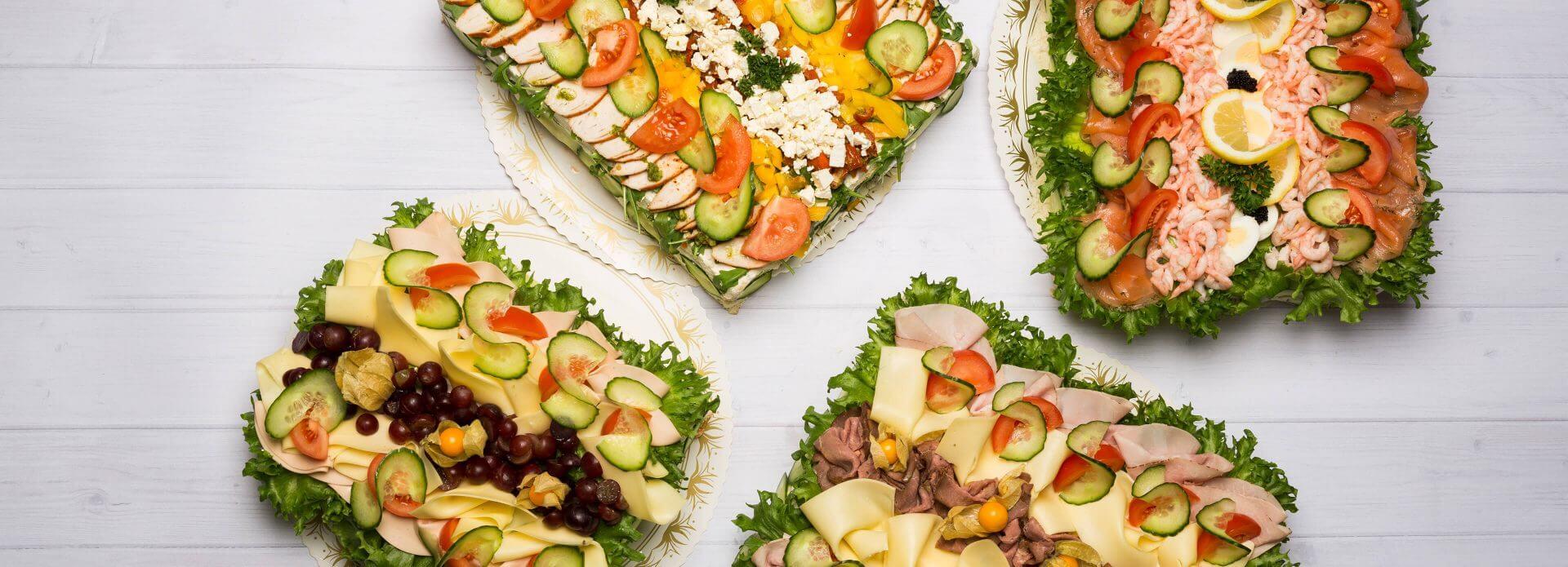 vegetarisk smörgåstårta ica